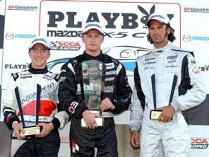 Stevan McAleer - 1st Place Sebring race 1